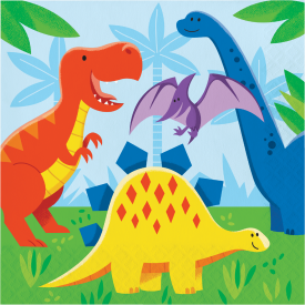 DINOSAUR FRIENDS NAPKINS
