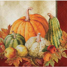 TRADITIONS OF THANKSGIVING BEVERAGE NAPKINS