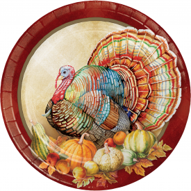 TRADITIONS OF THANKSGIVING BANQUET PLATES
