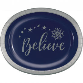SILENT NIGHT OVAL PLATES