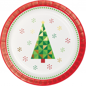 HOLIDAY PARTY DESSERT PLATES