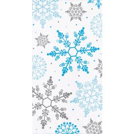 WINTER SNOWFLAKE GUEST TOWELS