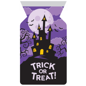 HAUNTED HOUSE FAVOR BAGS