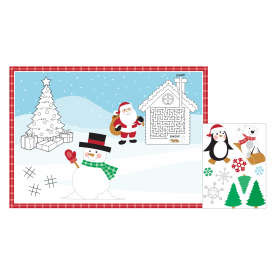 CHRISTMAS ACTIVITY PLACEMATS