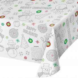 CHRISTMAS ACTIVITY PAPER TABLE COVERS