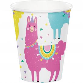 LLAMA PARTY HOT/COLD CUPS 9 oz