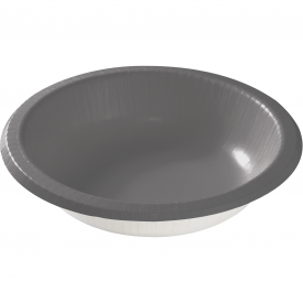 GLAMOUR GRAY PAPER BOWLS