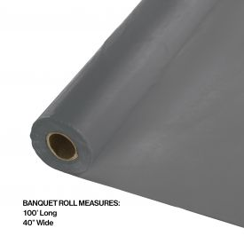 GLARMOUR GRAY PLASTIC BANQUET ROLL