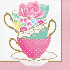 FLORAL TEA PARTY NAPKINS