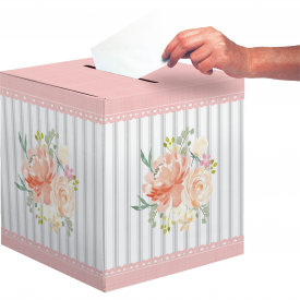 FARMHOUSE FLORAL CARD BOX