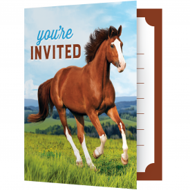 HORSE AND PONY INVITATIONS