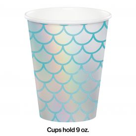 IRIDESCENT MERMAID SHINE HOT/COLD CUPS 9oz
