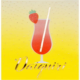 HAPPY HOUR DAIQUIRI BEVERAGE NAPKINS