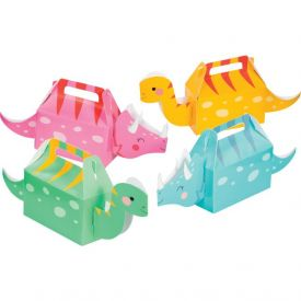 DINO PARTY FAVOR BOXES 3D Out of Stock until 7/31