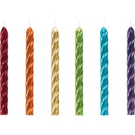 CAN 12/24CT SPIRAL RAINBOW METALLIC,12/24