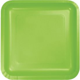 FRESH LIME GREEN PAPER PLATES **Unavailable until 11/10**