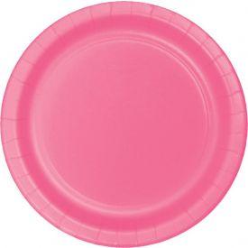 CANDY PINK BANQUET PLATES