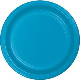 TURQUOISE BLUE BANQUET PLATES