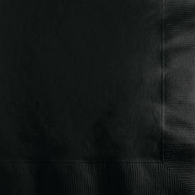 BLACK VELVET BEVERAGE NAPKINS 3-PLY **Unavailable until 9/19**