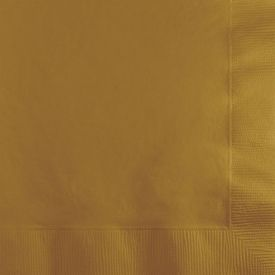 GLITTERING GOLD BEVERAGE NAPKINS 3-PLY **Unavailable until 11/15**
