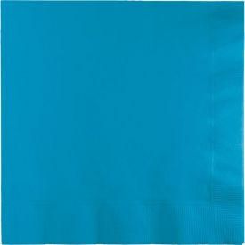 TURQUOISE BLUE LUNCH NAPKINS 3 PLY