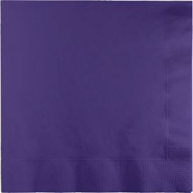 PURPLE DINNER NAPKINS 3 PLY