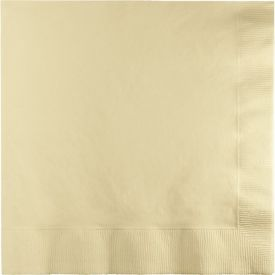 IVORY DINNER NAPKINS 3 PLY