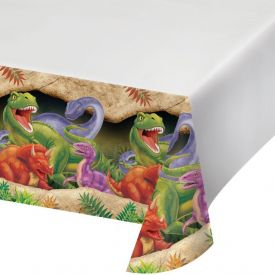 DINOSAUR PLASTIC TABLECLOTH