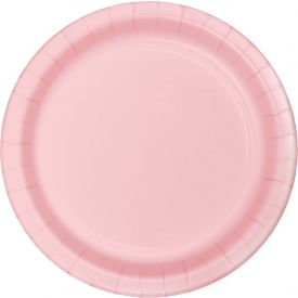 CLASSIC PINK DESSERT PLATES