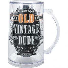 VINTAGE DUDE TANKARD OLD