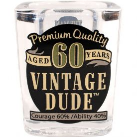 VINTAGE DUDE SHOT GLASS 60