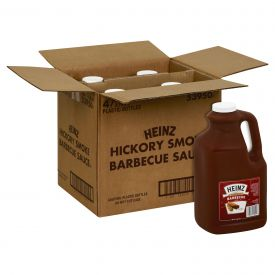 Heinz Hickory Smoke BBQ Sauce - 1 gallo