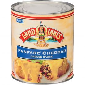Land O Lakes Fanfare Cheddar Cheese Sauce - 6.62 lb