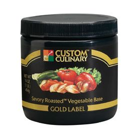 Custom Culinary Gold Label Savory Roasted Vegetable Base