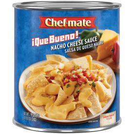 Chef-Mate Que Bueno Medium Nacho Cheese Sauce 106oz