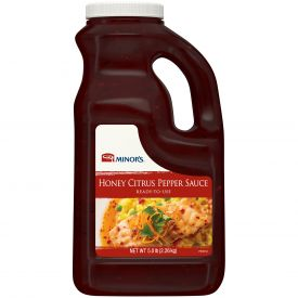 Minor's Honey Citrus Pepper Sauce - 64oz