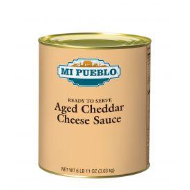Mi Pueblo Aged Cheddar Cheese Sauce - 107oz