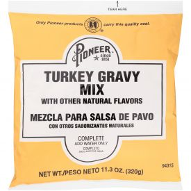 Pioneer Turkey Gravy Mix - 11.3oz