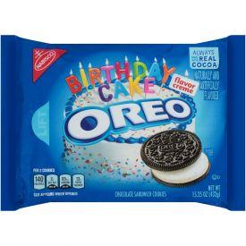 Nabisco Oreo Birthday Cake Cookies 15.25oz