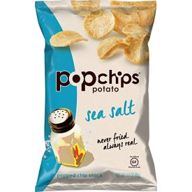 Popchips Sea Salt Flavored Popped Potato Chips 3.5oz