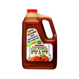 Kikkoman Low Sodium Sweet & Sour Sauce - 5lb