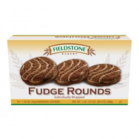 Fieldstone Bakery Fudge Round - 1.19oz