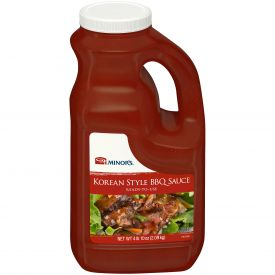 Minor's Korean Style BBQ Sauce - 64oz