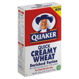 Quaker Creamy Wheat Farina 28oz.