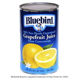 Bluebird Grapefruit Juice 46oz.