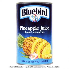 Bluebird Pineapple Juice 46oz.