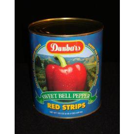 Dunbar Red Sweet Bell Pepper Strips 102oz