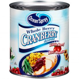 Ocean Spray Whole Cranberry Sauce 117oz.