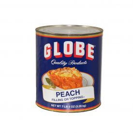 Globe Peach Sliced Filling 7lb.