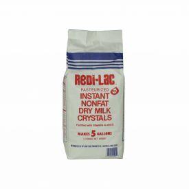 Ryt-Way Redi-Lac Instant Nonfat Dry Milk Crystals W/A & D Vitamins 5lb.